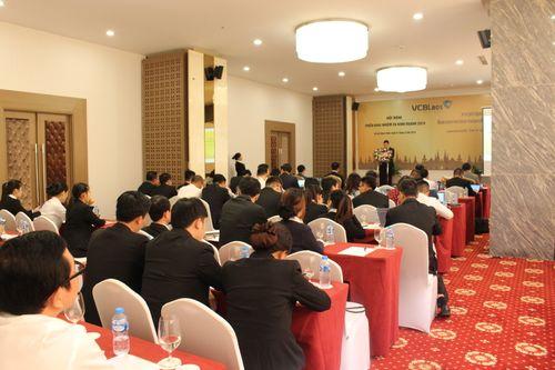 Vietcombank Lào tổ chức Hội nghị triển khai nhiệm vụ kinh doanh năm 2019 - Ảnh 1