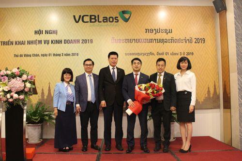 Vietcombank Lào tổ chức Hội nghị triển khai nhiệm vụ kinh doanh năm 2019 - Ảnh 2