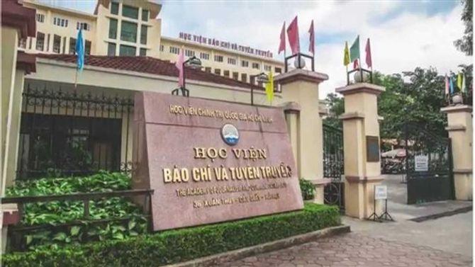 Học viện Báo chí và Tuyên truyền công bố điểm trúng tuyển ngành Báo chí