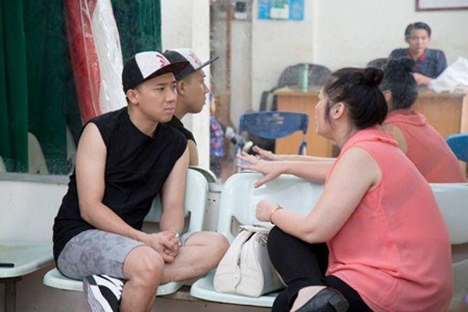 """Trấn Thành tập hát cùng """"mỹ nam"""" Noo Phước Thịnh  - Ảnh 5"""