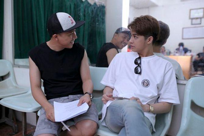 """Trấn Thành tập hát cùng """"mỹ nam"""" Noo Phước Thịnh  - Ảnh 2"""