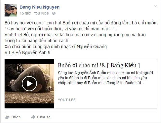 Sao Việt tiếc thương nhạc sĩ Nguyễn Ánh 9 - Ảnh 2