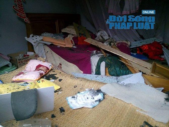 Hiện trường vụ ôm mìn tự sát gây chấn động tại Hà Tĩnh - Ảnh 4