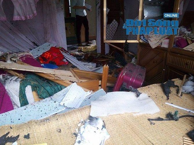 Hiện trường vụ ôm mìn tự sát gây chấn động tại Hà Tĩnh - Ảnh 2