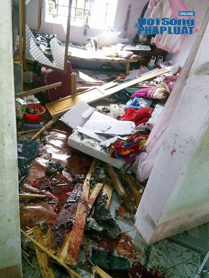 Hiện trường vụ ôm mìn tự sát gây chấn động tại Hà Tĩnh - Ảnh 5