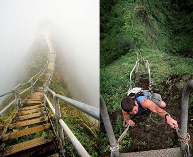 Cận cảnh những con đường nguy hiểm nhất thế giới - Ảnh 6