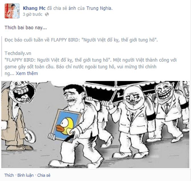 Thái Thùy Linh buồn vì Flappy Bird bị gỡ, Lâm Chi Khanh tung ảnh nude - Ảnh 3