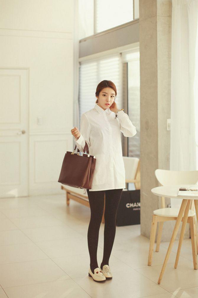 Biến hóa các cách mix đồ cùng áo sơmi trắng - Ảnh 13