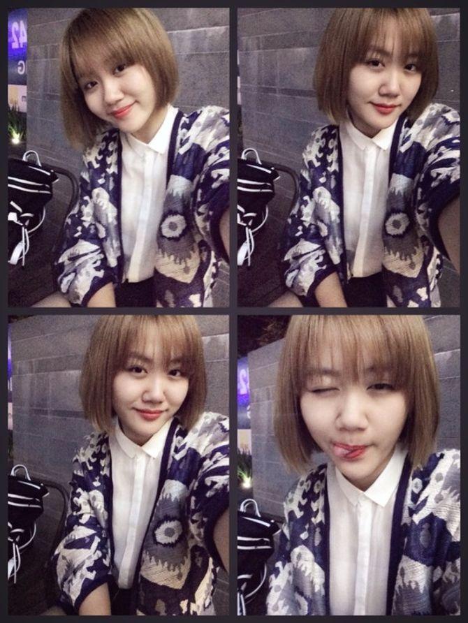 Tóc mái thưa -  xu hướng mê hoặc các quý cô Châu Á  - Ảnh 16