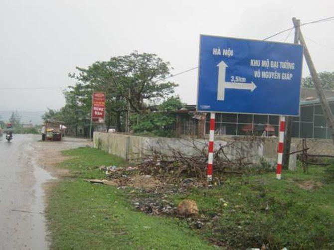 """Hình ảnh khu mộ Đại tướng Võ Nguyên Giáp trước lễ """"49 ngày"""" - Ảnh 1"""