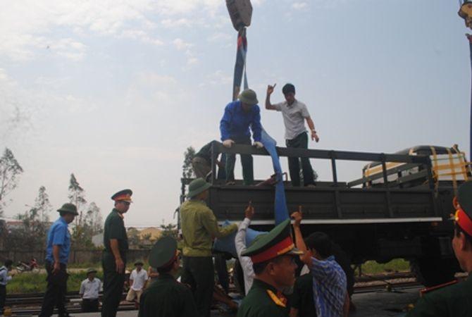 Hình ảnh đoàn xe quân sự phục vụ Lễ tang Đại tướng tại Quảng Bình - Ảnh 4