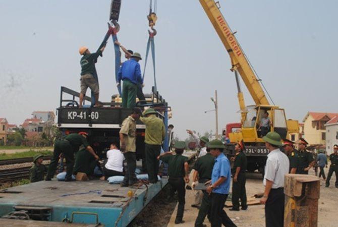 Hình ảnh đoàn xe quân sự phục vụ Lễ tang Đại tướng tại Quảng Bình - Ảnh 3