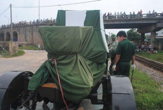 Hình ảnh đoàn xe quân sự phục vụ Lễ tang Đại tướng tại Quảng Bình - Ảnh 7