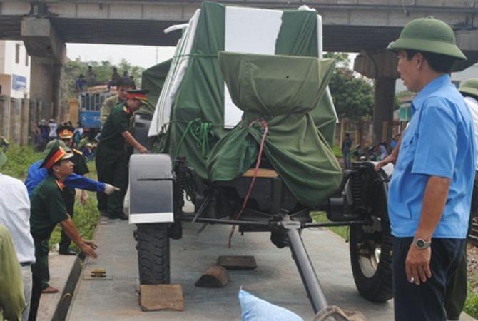 Hình ảnh đoàn xe quân sự phục vụ Lễ tang Đại tướng tại Quảng Bình - Ảnh 14