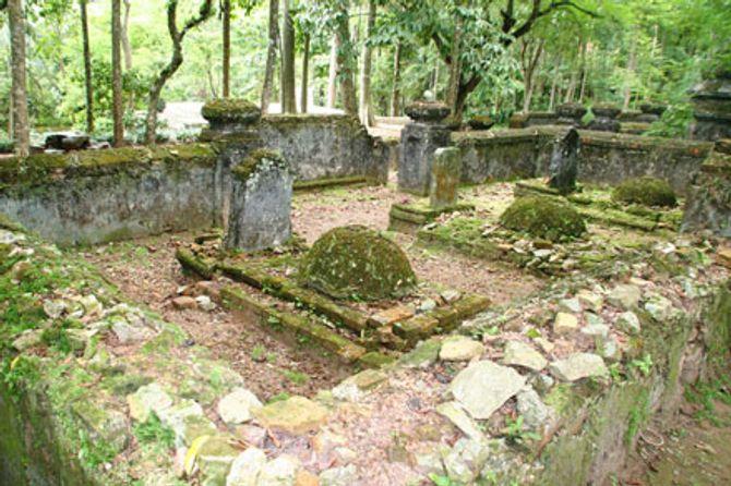 Nghĩa trang thái giám duy nhất ở Việt Nam bị lãng quên - Ảnh 1