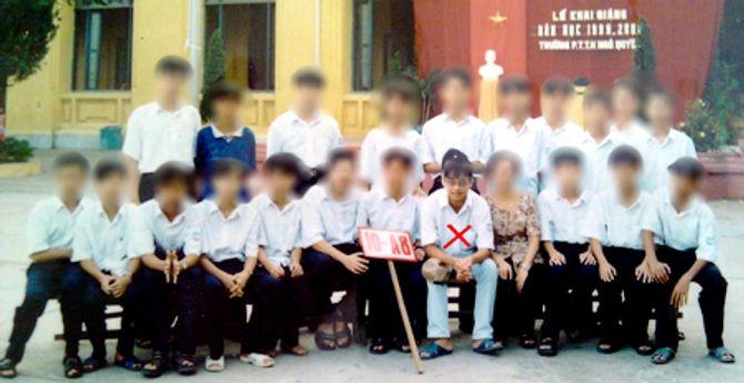 Hình ảnh Nguyễn Đức Nghĩa từ thuở học trò đến khi bị tử hình - Ảnh 1