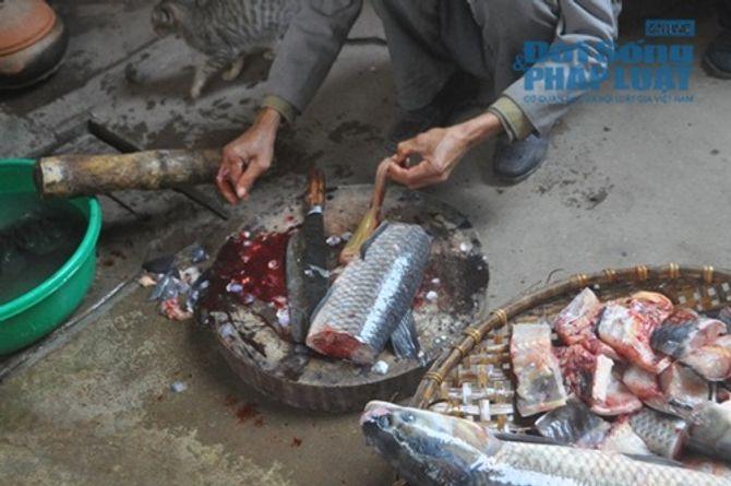 Chùm ảnh: Cá kho làng Vũ Đại vào tết - Ảnh 6