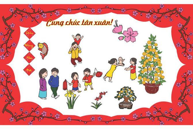 Những tấm thiệp chúc mừng năm mới 2014 đẹp lung linh - Ảnh 12