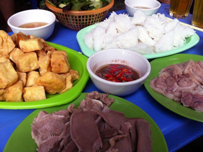 Những quán bún đậu ngon nhất Hà Nội