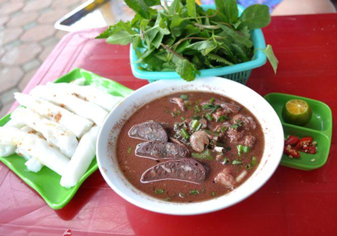Thưởng thức bánh mướt xáo lòng – đặc sản xứ Nghệ - Ảnh 7