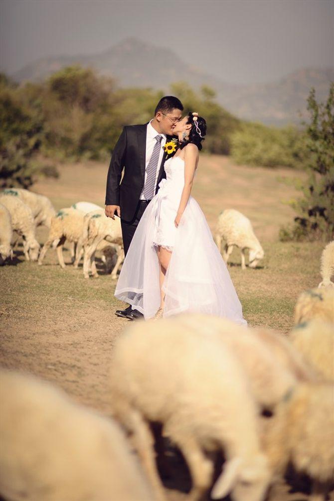 Ngắm ảnh cưới ngộ nghĩnh của các cặp uyên ương - Ảnh 4