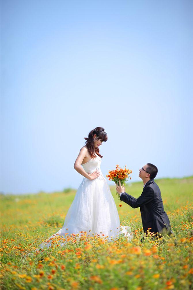 Ngắm ảnh cưới ngộ nghĩnh của các cặp uyên ương - Ảnh 14