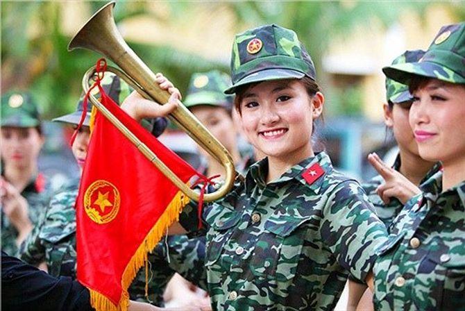 Những nữ quân nhân xinh đẹp của QĐND Việt Nam  - Ảnh 1