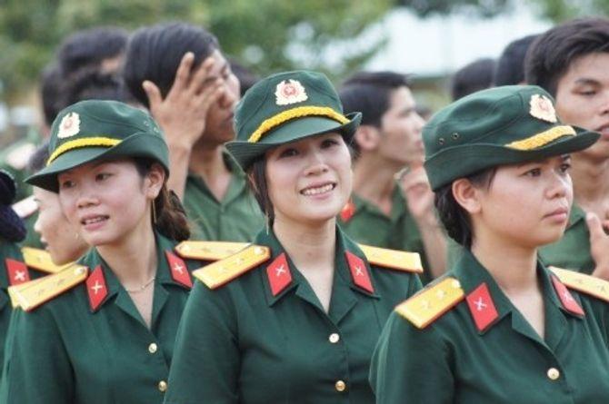 Những nữ quân nhân xinh đẹp của QĐND Việt Nam  - Ảnh 10