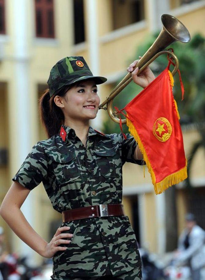 Những nữ quân nhân xinh đẹp của QĐND Việt Nam  - Ảnh 2