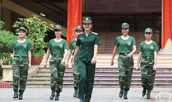 Những nữ quân nhân xinh đẹp của QĐND Việt Nam  - Ảnh 3