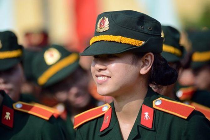 Những nữ quân nhân xinh đẹp của QĐND Việt Nam  - Ảnh 4