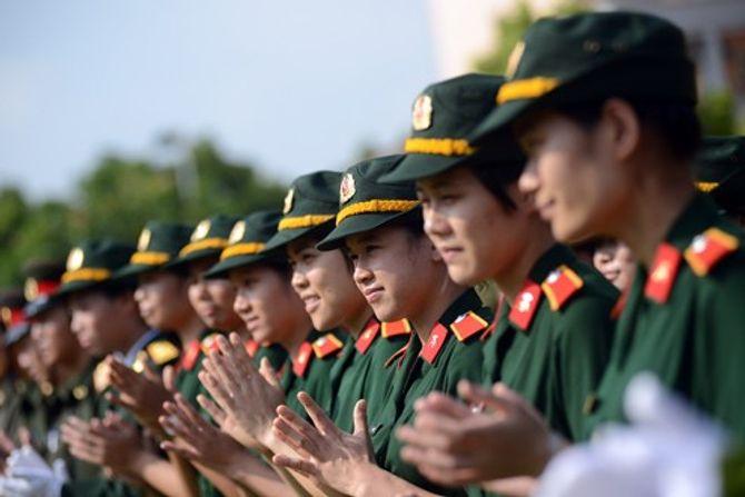Những nữ quân nhân xinh đẹp của QĐND Việt Nam  - Ảnh 5