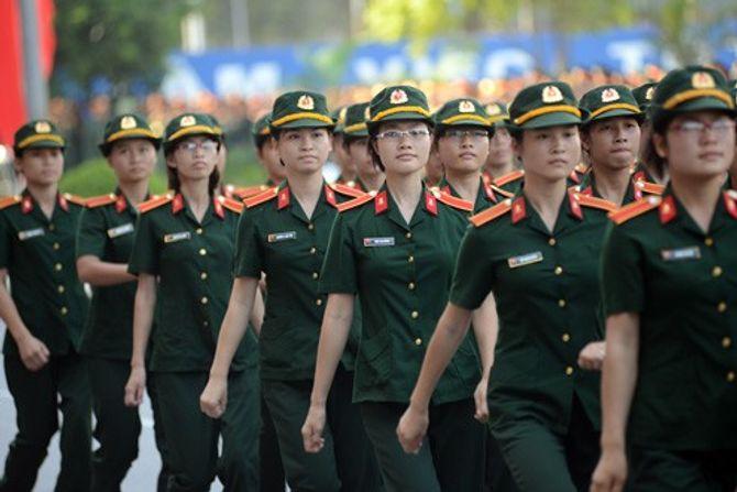 Những nữ quân nhân xinh đẹp của QĐND Việt Nam  - Ảnh 6