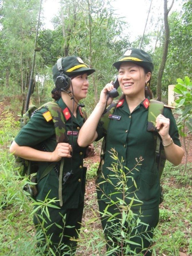 Những nữ quân nhân xinh đẹp của QĐND Việt Nam  - Ảnh 7