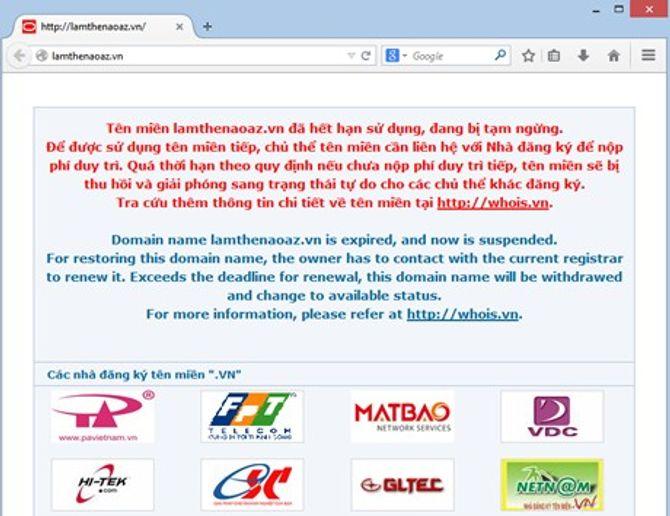 Thêm 7 trang thông tin điện tử bị tạm ngừng hoạt động - Ảnh 1