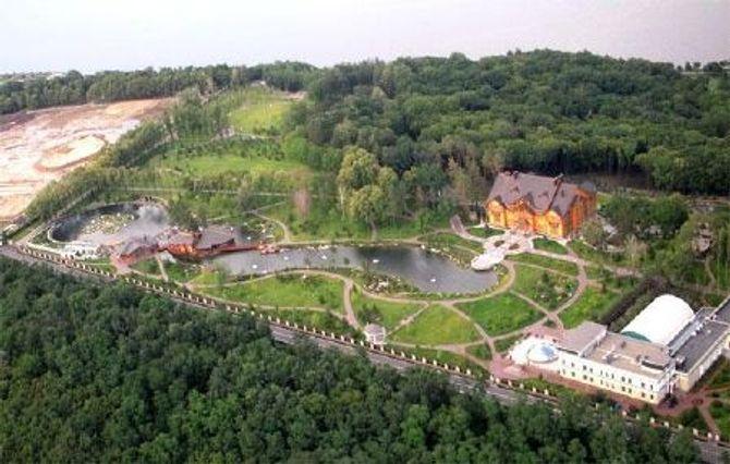 Dinh thự lộng lẫy của Tổng thống Ukraine vừa bị phế truất - Ảnh 1