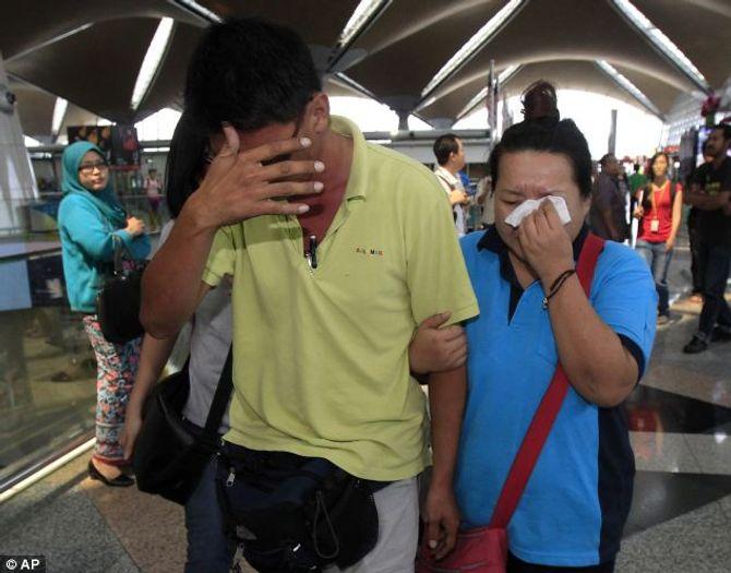 """Hình ảnh ban đầu về vụ máy bay Malaysia """"mất tích"""" - Ảnh 1"""