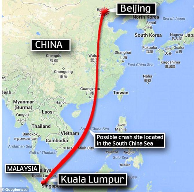 Hình ảnh ban đầu về vụ máy bay Malaysia