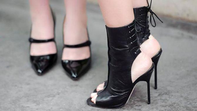 Giày cao gót tôn vinh nét quyến rũ của phái đẹp - Ảnh 1