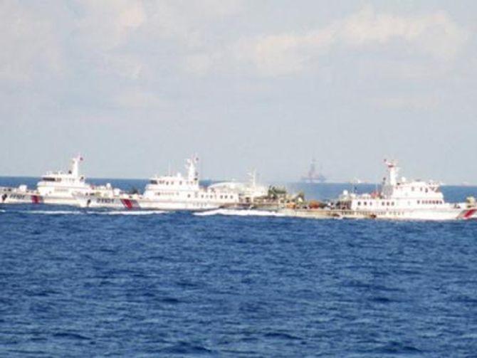 """Trung Quốc khoan trúng """"núi lửa"""" ở Biển Đông - Ảnh 3"""