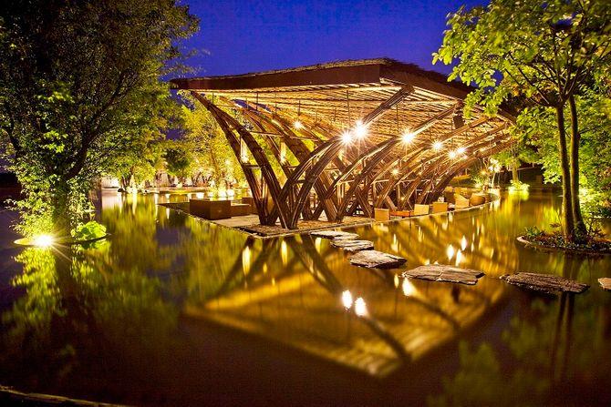 Bamboo Wings - Nhà hàng có kiến trúc độc đáo nhất châu Á - Ảnh 3