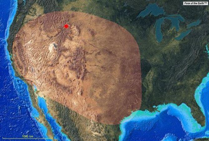"""Nếu """"siêu núi lửa"""" Yellowstone lại phun trào? - Ảnh 2"""