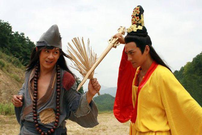 Trần Hạo Dân đóng Tế Công phiên bản mới - Ảnh 1