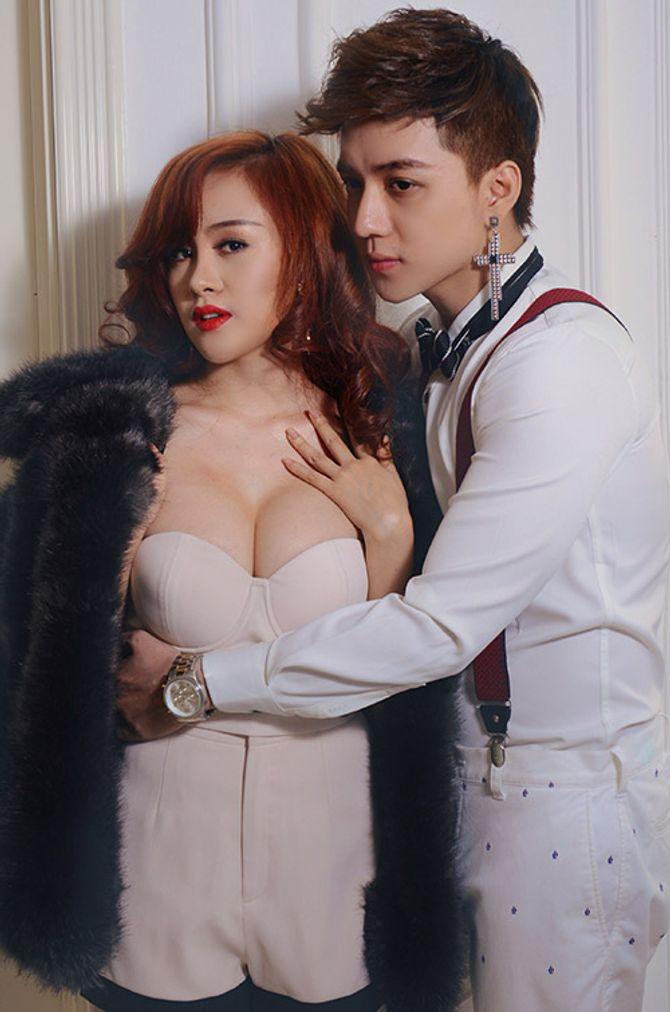 """Bà Tưng sexy đầy """"cám dỗ"""" bên """"trai xinh"""" Vĩnh Cường - Ảnh 5"""