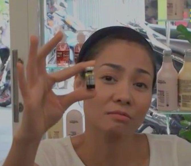 Thu Minh trả lời về clip dùng mật gấu tươi chữa trị vết thương
