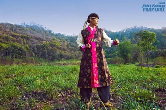 Hữu Vi nổi bật với trang phục dân tộc tại Mister Global 2014 - Ảnh 6