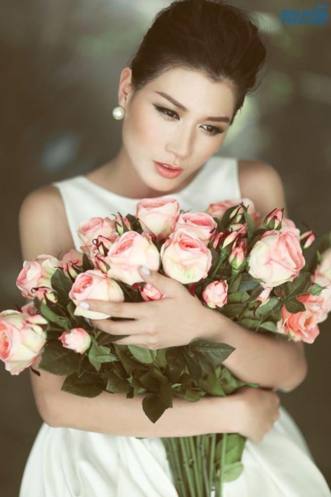 Trúc Diễm, Trang Trần, Minh Tú rủ nhau làm cô dâu - Ảnh 7
