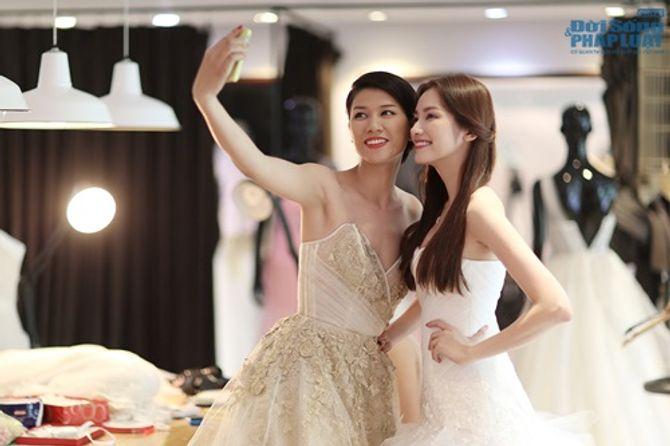 Trúc Diễm, Trang Trần, Minh Tú rủ nhau làm cô dâu - Ảnh 10