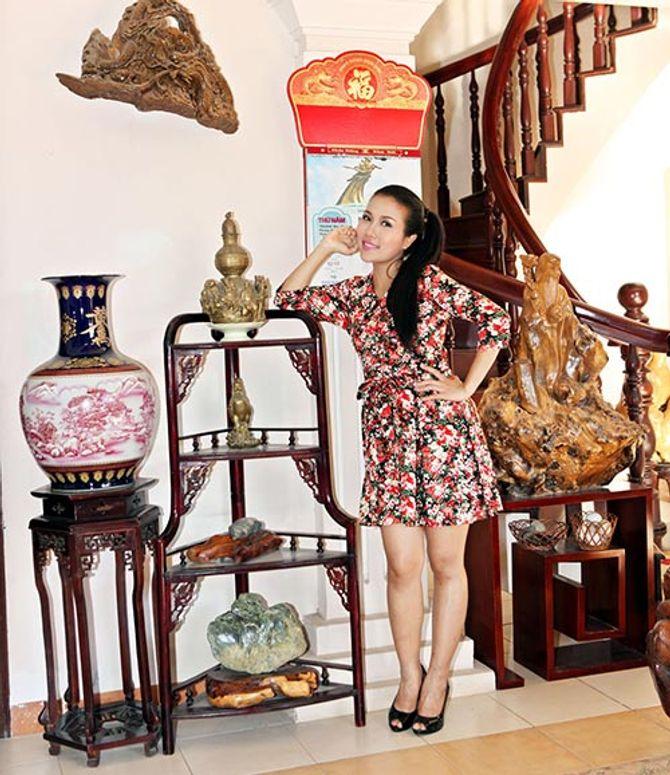 Ngắm ngôi nhà bằng gỗ nghìn m2 giá bạc tỷ của Thùy Dương - Ảnh 11