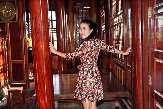 Ngắm ngôi nhà bằng gỗ nghìn m2 giá bạc tỷ của Thùy Dương - Ảnh 12